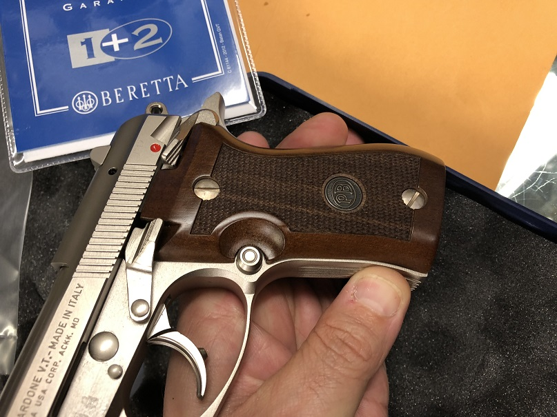 Beretta 85FS Cheetah Nickel USED